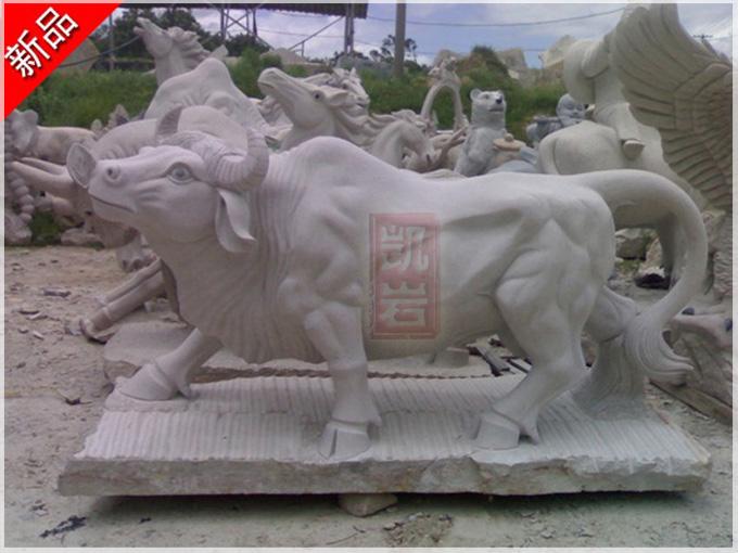 福建批发动物石雕牛厂家