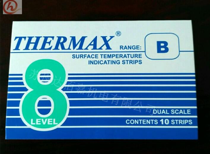 英国进口八格温度热敏试纸/测温纸/八格B热敏试纸/71℃- 110℃