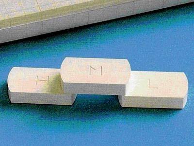 原装日本JFCC精密陶瓷测温块 测温砖 测温片L2型号600-900度