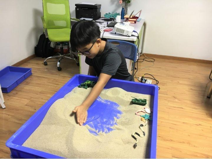广州心阳的流行的沙盘游戏培训品质有保障