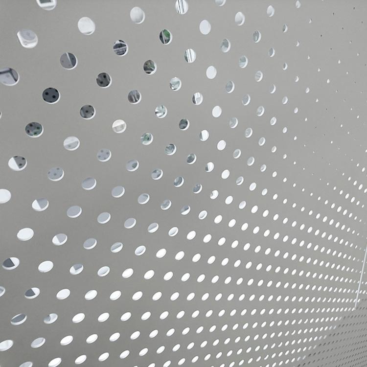 上海虹口穿孔铝板_1.0mm厚铝板冲孔网加星游2注册——上海迈饰新材料星游2注册技星游2注册
