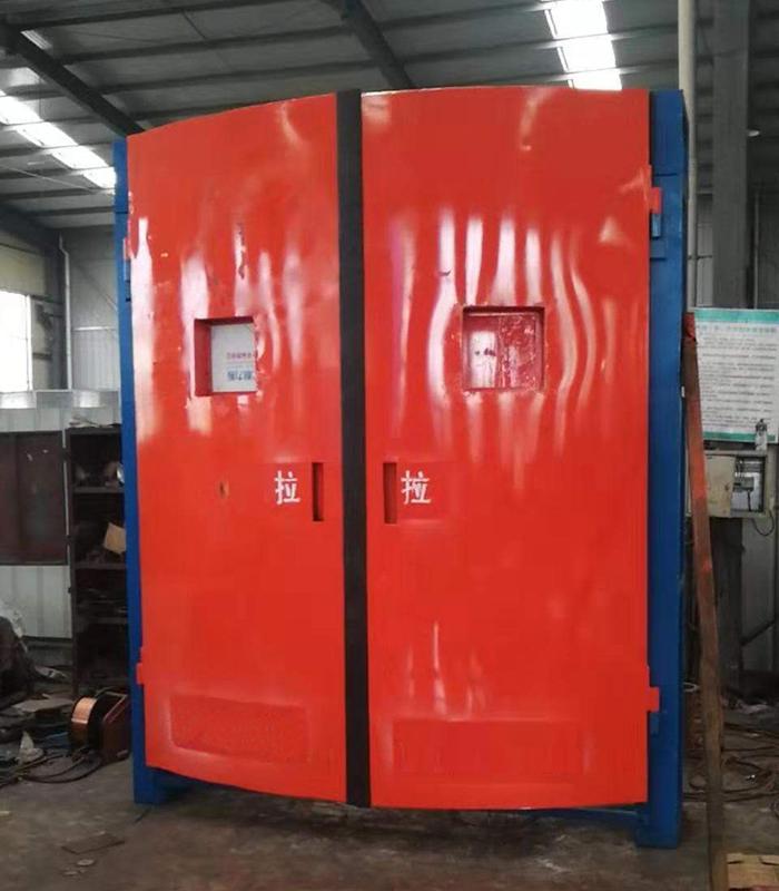 SWM系列礦用雙向無壓風門 減壓風門