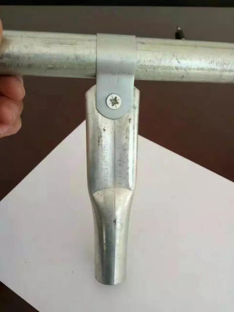 厂家生产 十字卡扣 温室大棚圆管配件十字卡 批发 大棚管十字夹箍