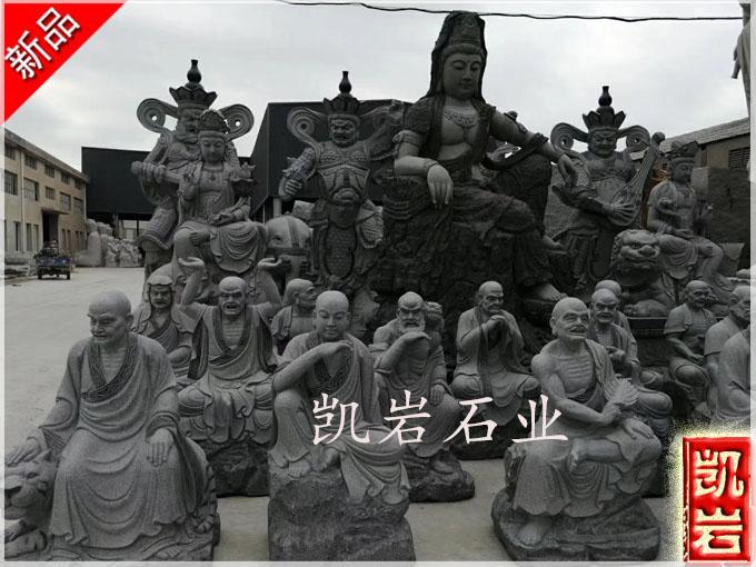 寺庙石雕十八罗汉的由来-凯岩石业