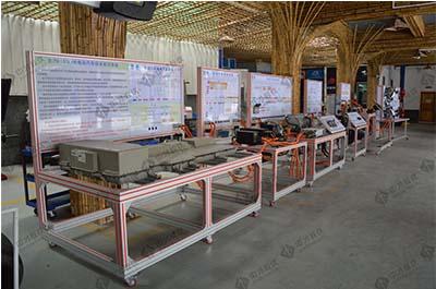 汽车新能源实训设备 比亚迪E5纯电动汽车动力电池实训台