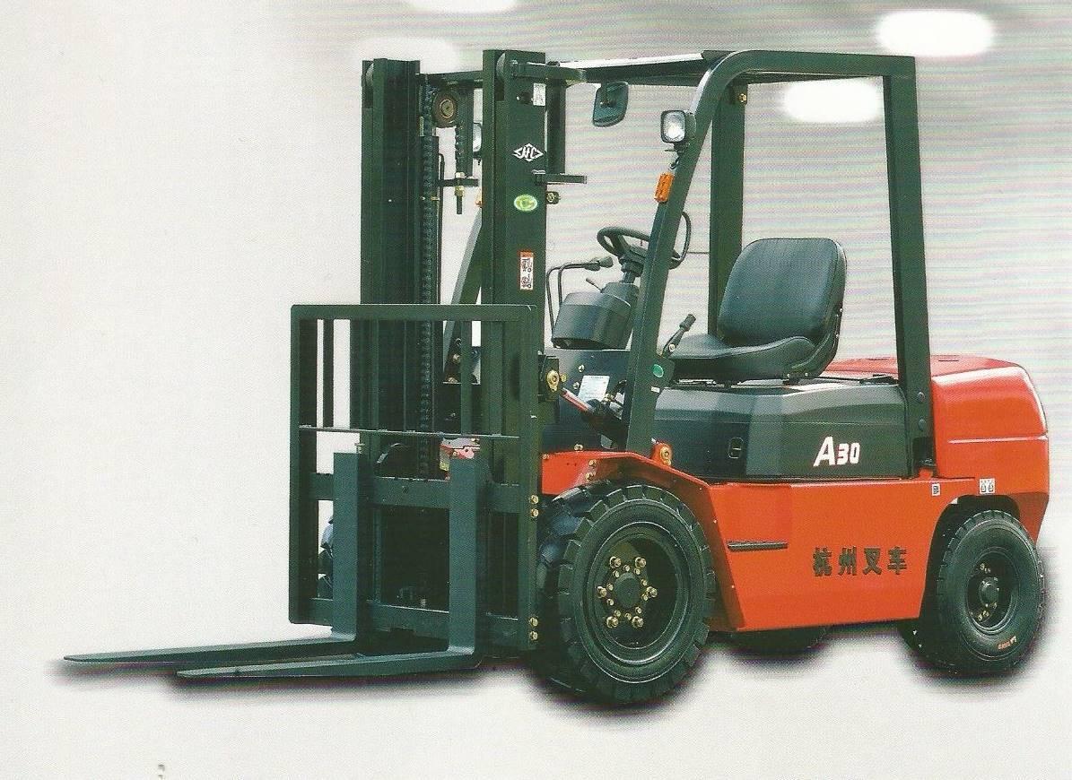 3吨杭州柴油叉车-天津杭州柴油叉车-杭州柴油叉车