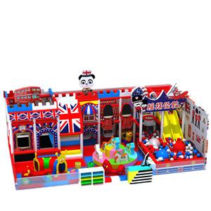 廠家定制英倫風淘氣堡兒童樂園游樂設施