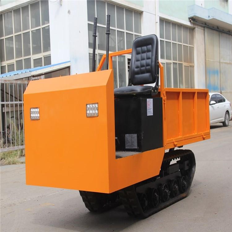 产地直发小型履带车果园运输机1T座驾履带车