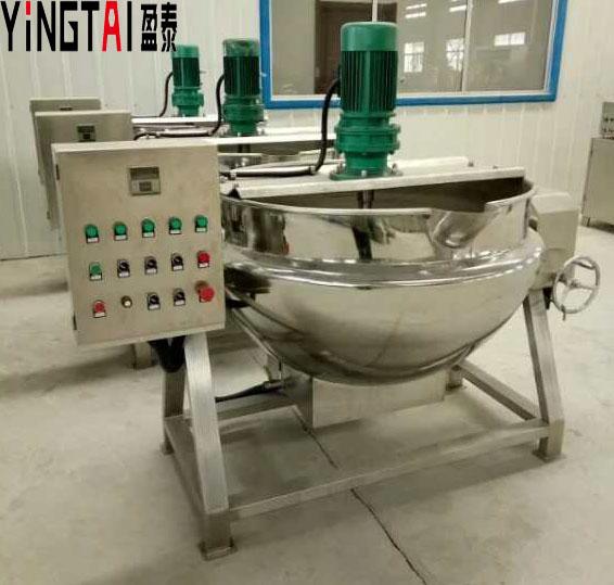 盈泰燃氣蒸汽可傾式夾層鍋松香鍋廠家直銷價優物廉
