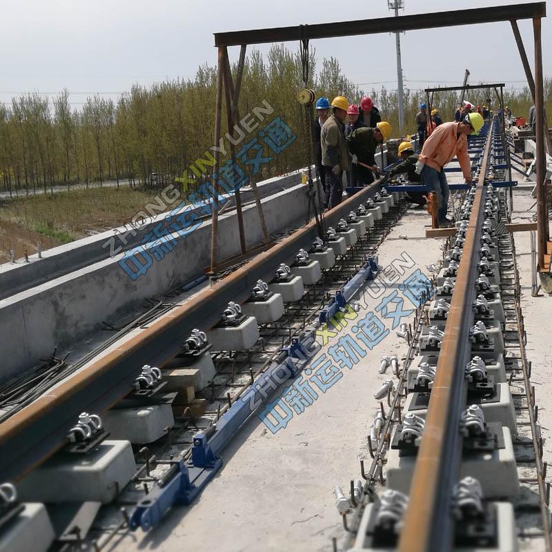 城市轨道交通地铁钢轨支撑架