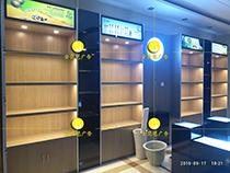 南京食品道具 小零食展柜制作