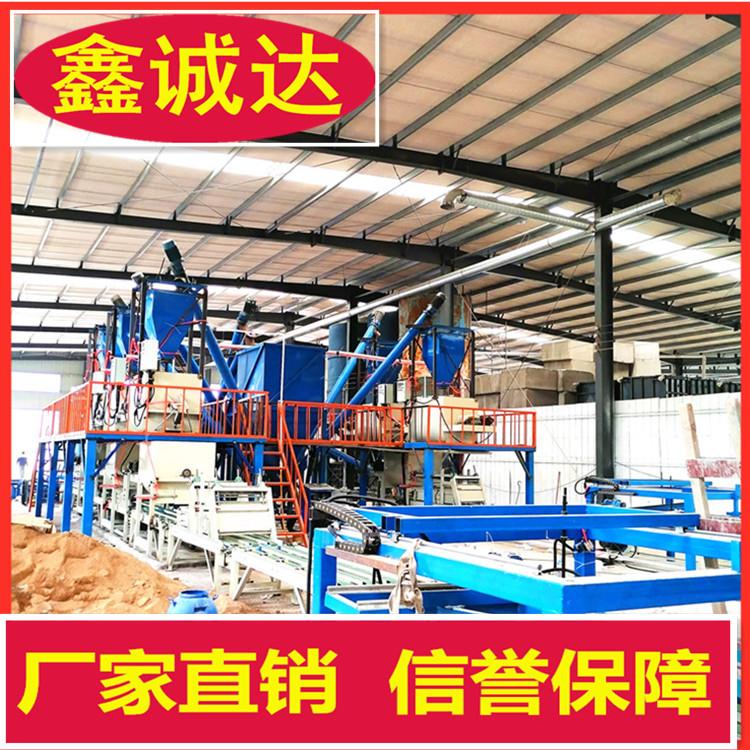 鑫誠達fs保溫建筑模板設備 fs外模板生產設備 行情
