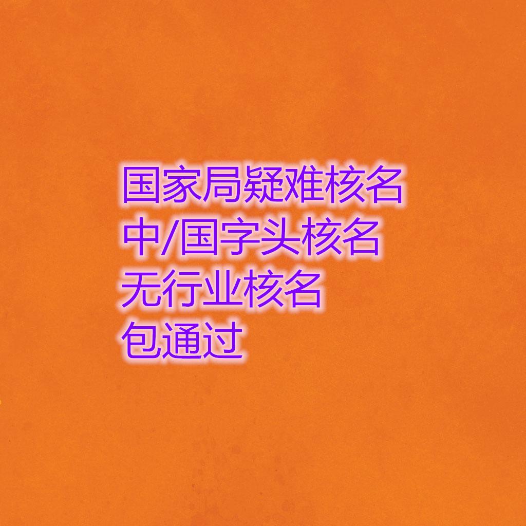 国星游2注册局疑难核名星游2注册字头国字头价格及办理材料-办理总局无行政区域核名