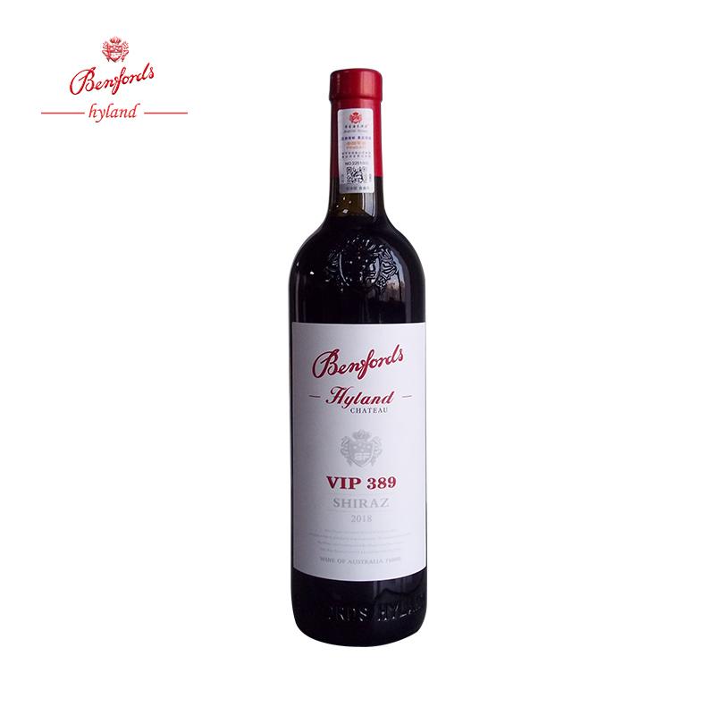 供应澳洲奔富VIP389干红葡萄酒原瓶原装进口红酒