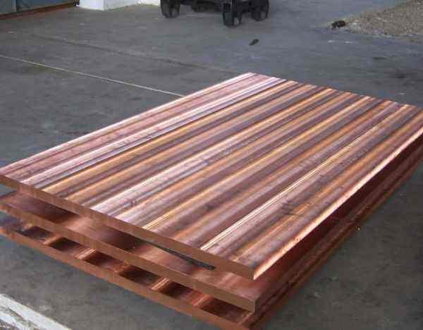 批量供应结晶器用铜板