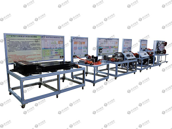 汽车新能源实训室 纯电动汽车电动助力转向一体化教学实训系统