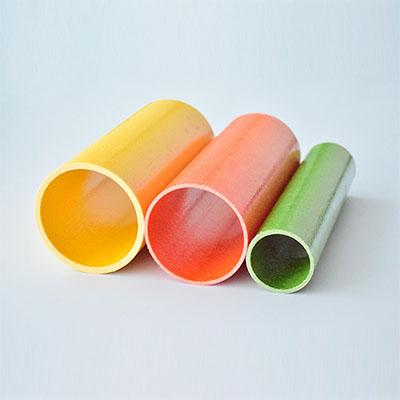 新型环保制品耐腐蚀高强度圆形玻纤管