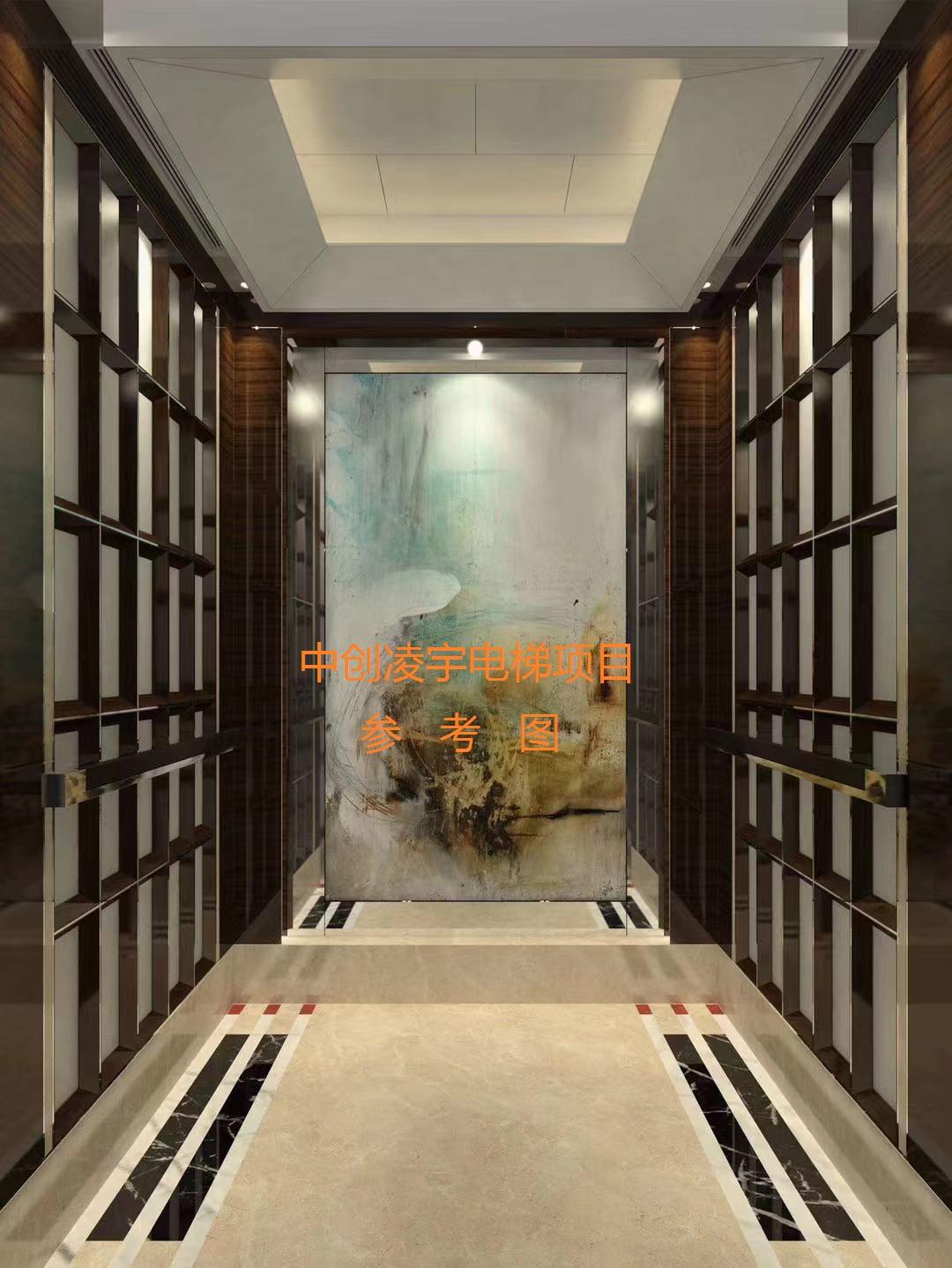 商场酒店扶梯装修客梯内部装饰新旧电梯翻新定做