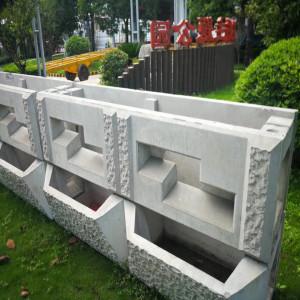 阶梯生态护坡模具的设计构造原理