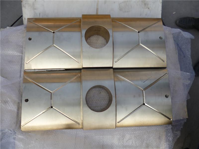 砂型铸造钢厂轧机万向接轴铜滑块