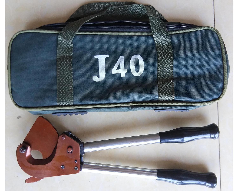 棘輪電纜剪銅鋁鎧裝電纜剪J-40