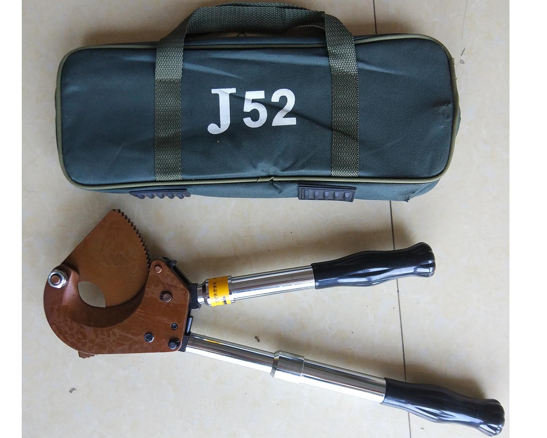 多功能齒輪式鋼絞線斷線鉗剪刀J-52
