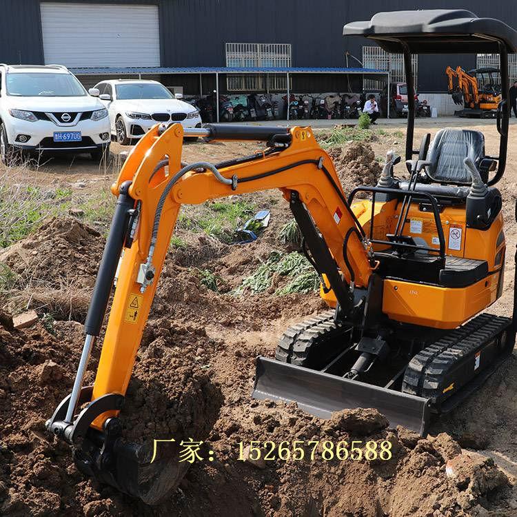 地下室迷你履带挖掘机 路面修复先导型挖土机