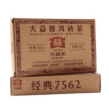 大益 2010年 002批 7562砖 广东茶有益有限公司
