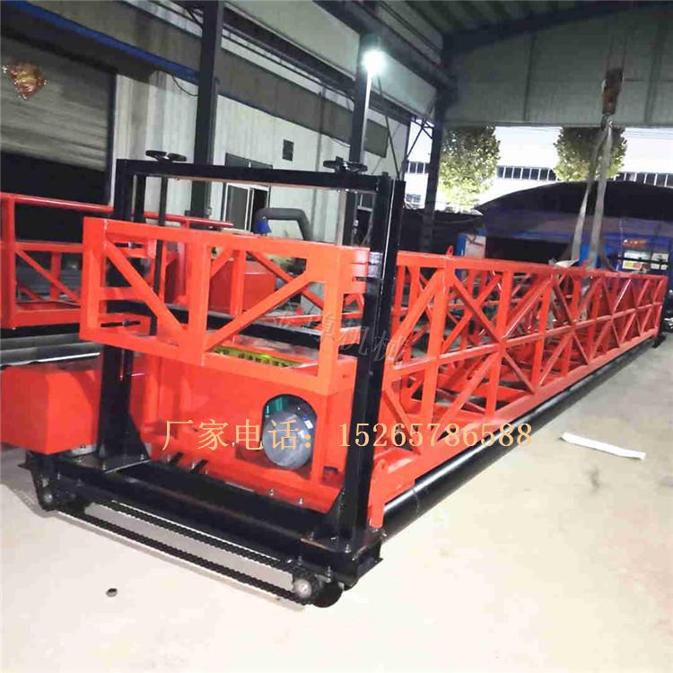 港口码头路面辊轴式整平机 桥面护栏式震动铺平机