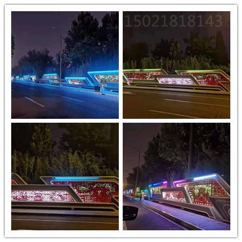 上海城市道路雕塑 剪纸浮雕墙 不锈钢浮雕制作工厂