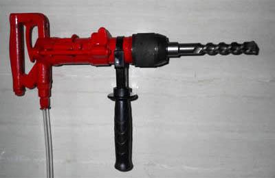 氣動沖擊鉆QCZ-1礦用氣動電錘
