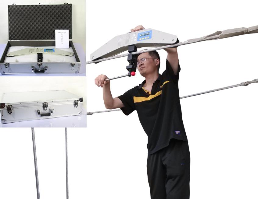 杆塔拉索张力检测装置 预应力幕墙拉索张力测量仪