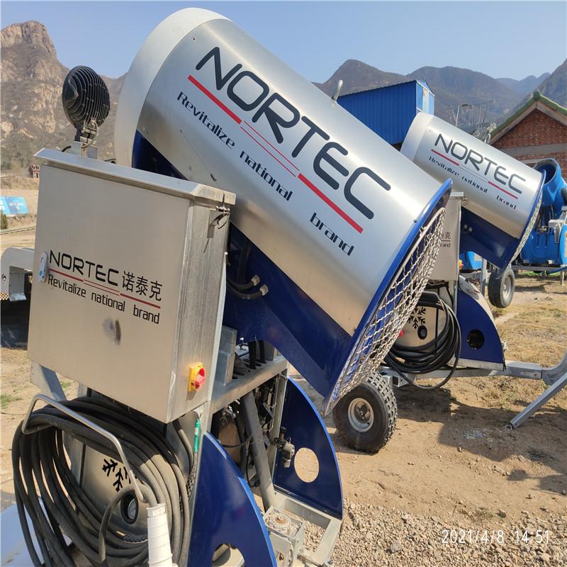 諾泰克造雪機設備生產廠家運行原理生產售價設備介紹