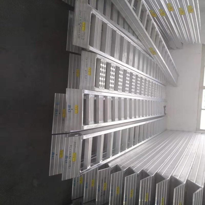 4米轮履式机械用铝合金爬梯