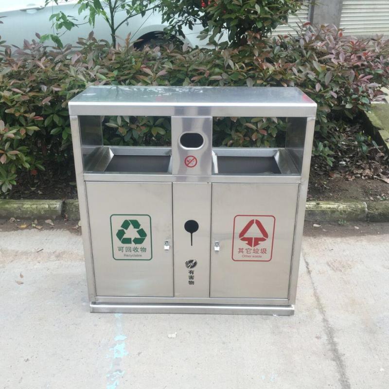 金屬垃圾桶定制,不銹鋼垃圾桶