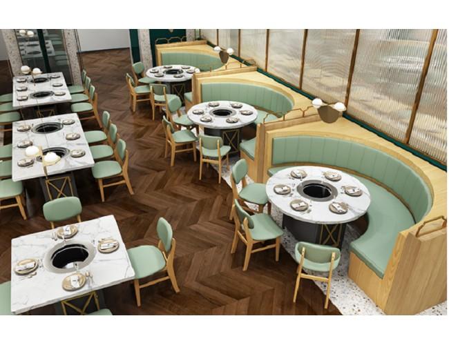 定做實木餐廳桌椅-港式餐廳桌椅-餐飲桌椅-卡座沙發廠家價格美麗!