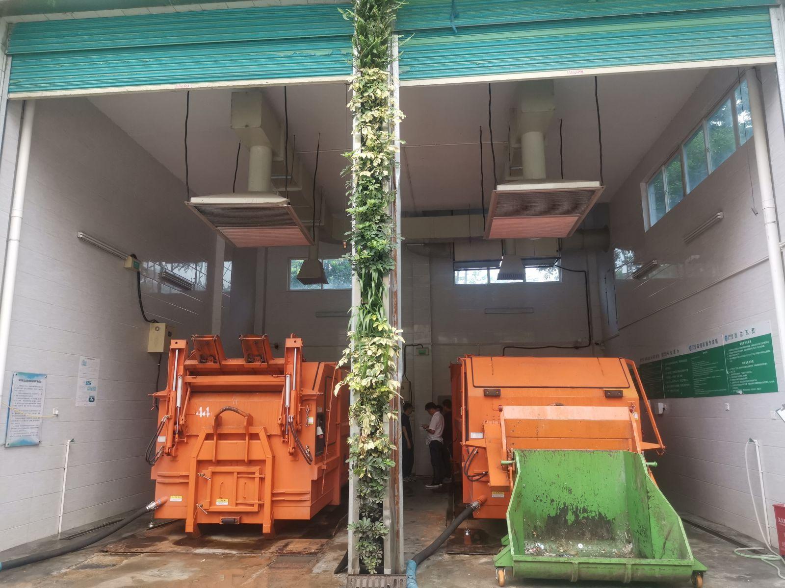 垃圾轉運站除臭設備 生物除臭系統