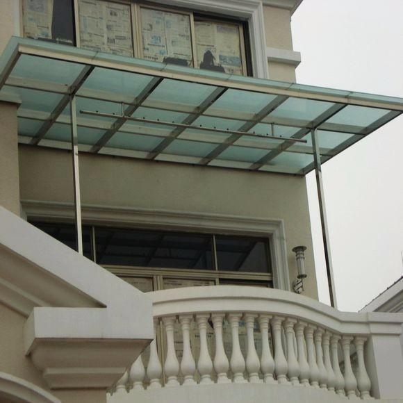 西安玻璃雨棚安装设计