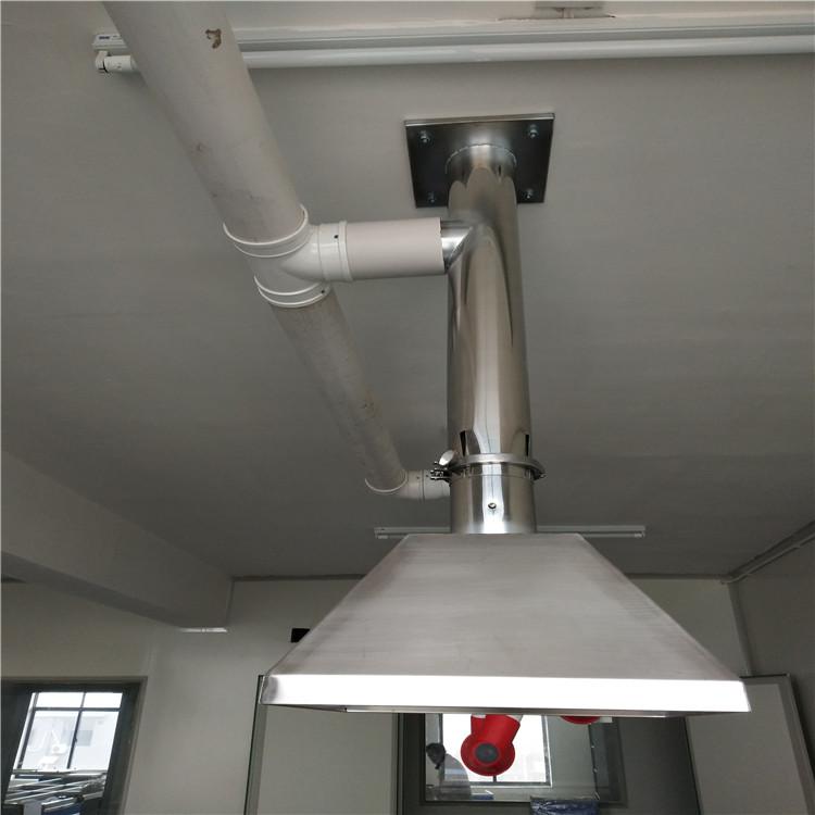 杭州實驗室不銹鋼集氣罩 色譜儀萬向排風罩