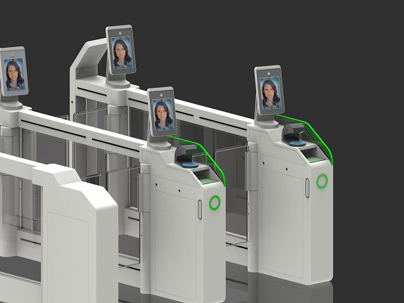机场安检闸机AB门闸机自助检票实名制闸机
