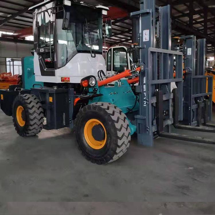 厂家出售环保型越野叉车 装卸自动挡越野叉车 运输搬运设备