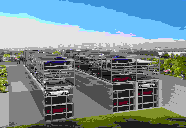 衡水奇佳——升降橫移類機械立體停車設備