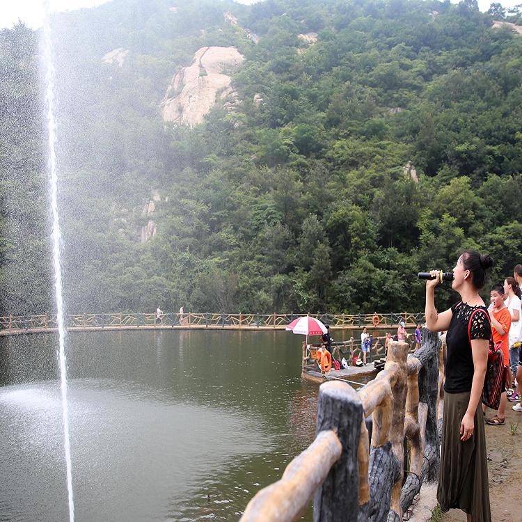 樂陵網紅吶喊噴泉帶給你不一樣的體驗 山東三喜