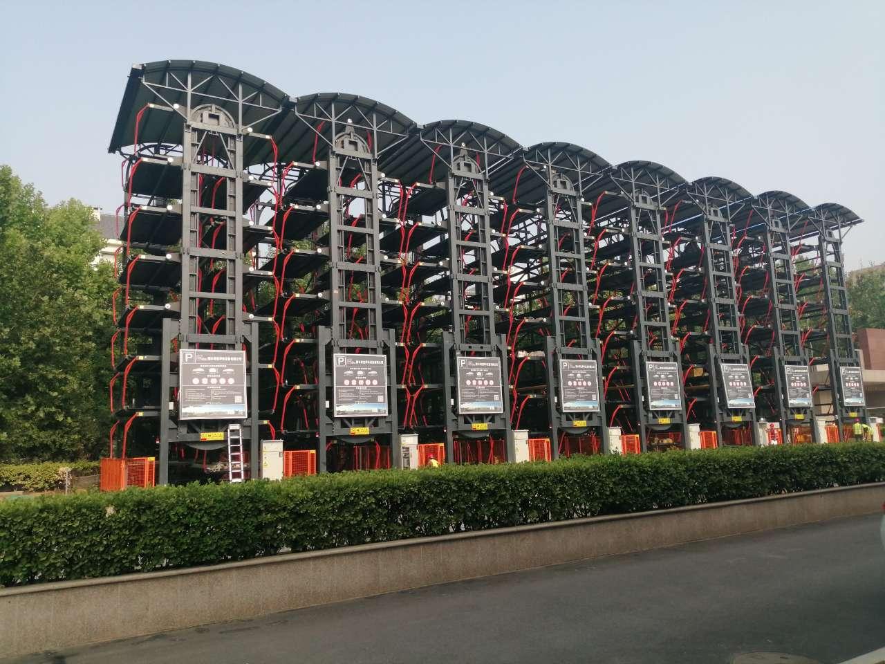衡水奇佳制造垂直循環立體停車設備