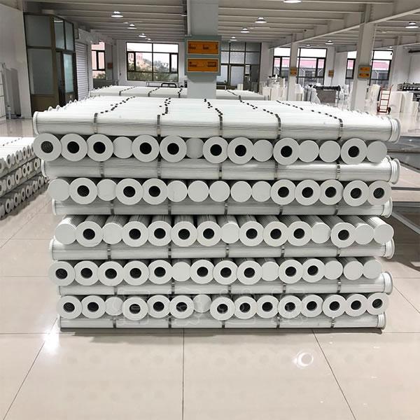 覆膜除尘滤芯花板孔160*2.4米高佰泰