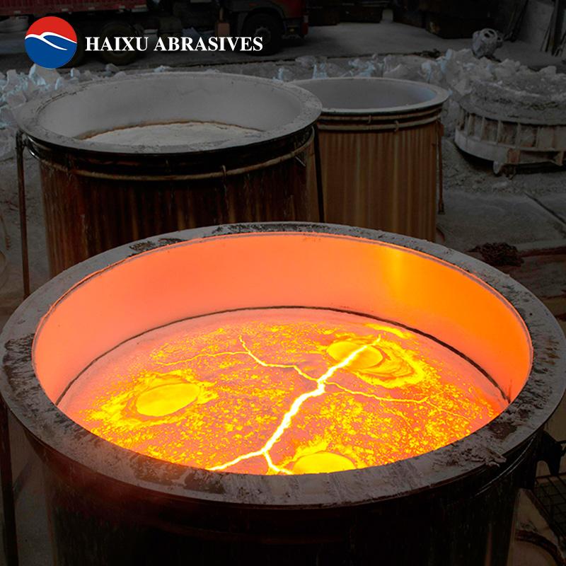 海旭工廠銷售30目金剛砂白色磨料噴砂料