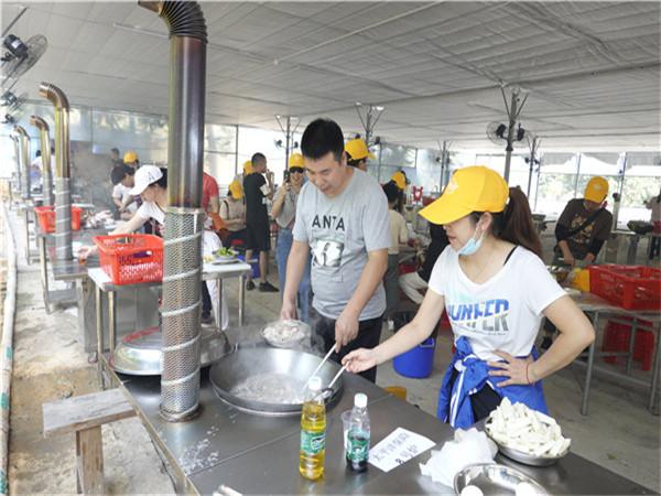 深圳田中園農家樂戶外野炊燒烤做團建好去處