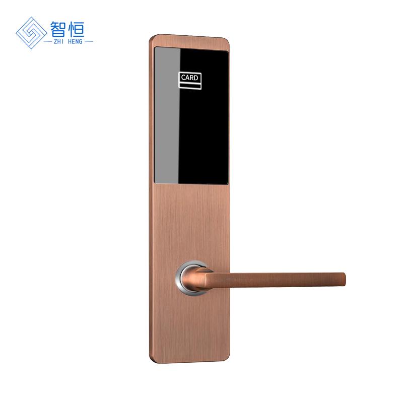 爱智达酒店刷卡锁感应锁 宾馆锁磁卡锁智能刷卡锁
