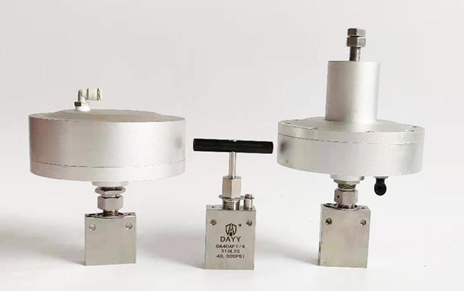 氣動控制閥門 氣控針閥 DAYY超高壓氣動針閥 氣控高壓閥門