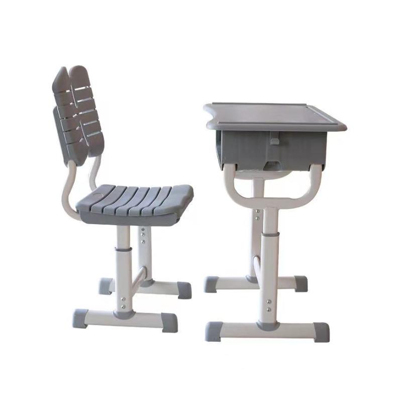 太原世騰升降式學生課桌椅 階梯教室課桌椅定制